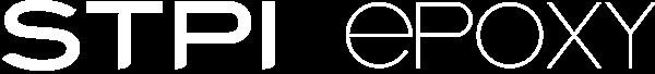 STPI Epoxy logo blanc