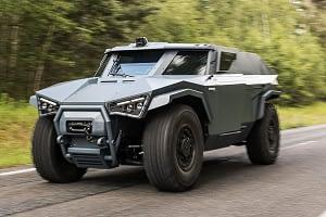 Revêtement voiture de la défense